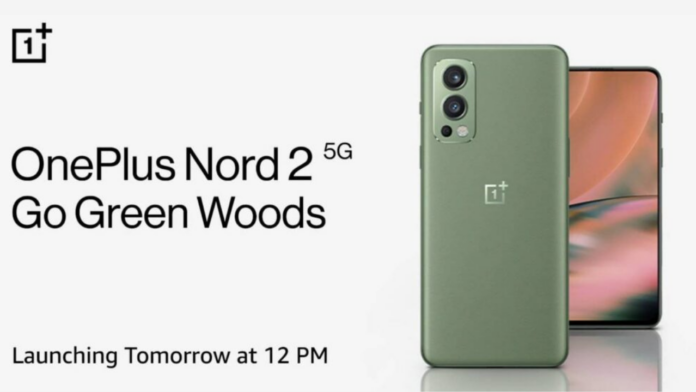OnePlus Nord 2 Go Green Woods
