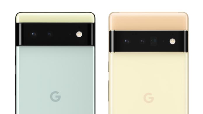 Pixel 6 cameras