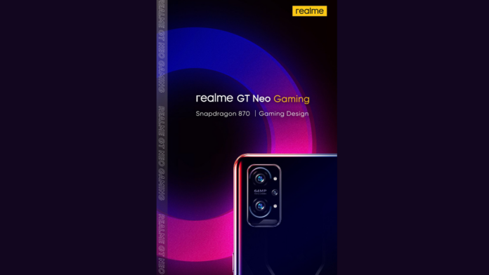 Realme GT Neo Gaming poster