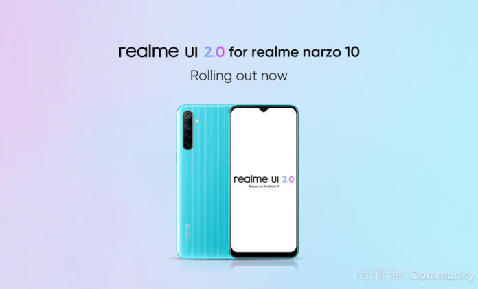 Narzo 10 Android 11 Update