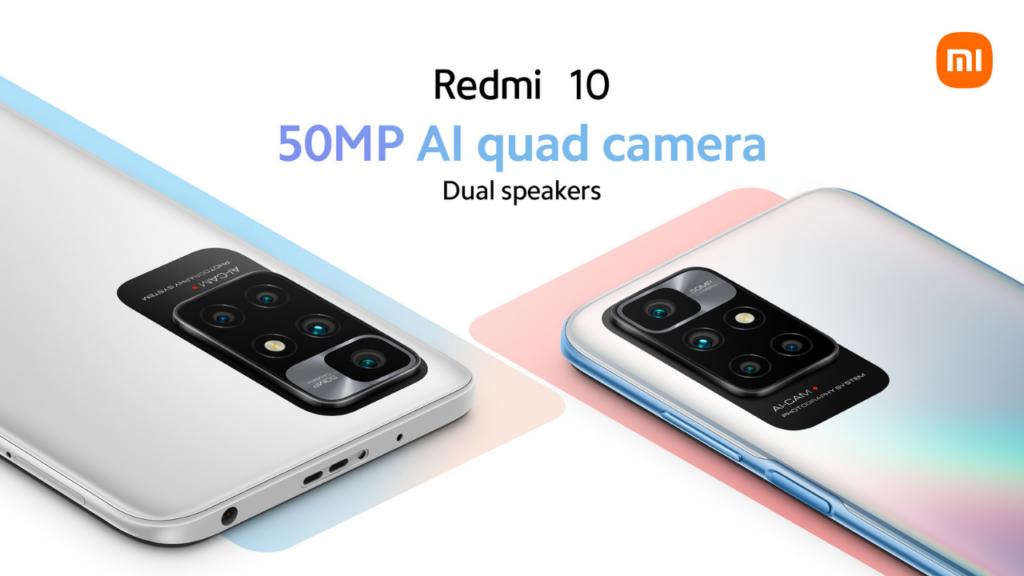 Redmi 10 cameras