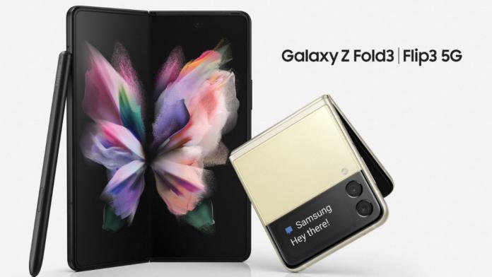 Samsung Galaxy Z Fold3, Z Flip3