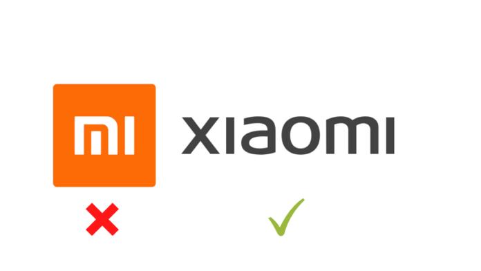 Xiaomi drops Mi branding