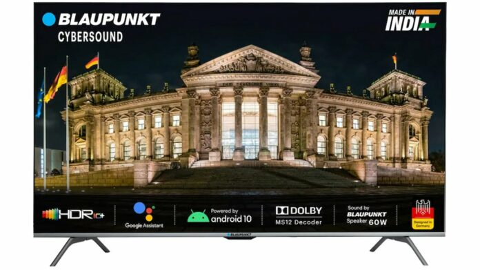 Blaupunkt 50-inch CyberSound Ultra-HD Android TV