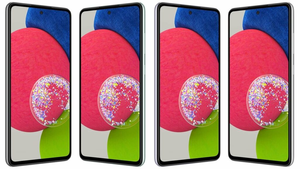 Samsung Galaxy A52s renders
