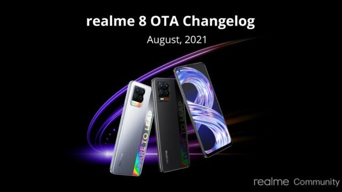 Realme 8 update