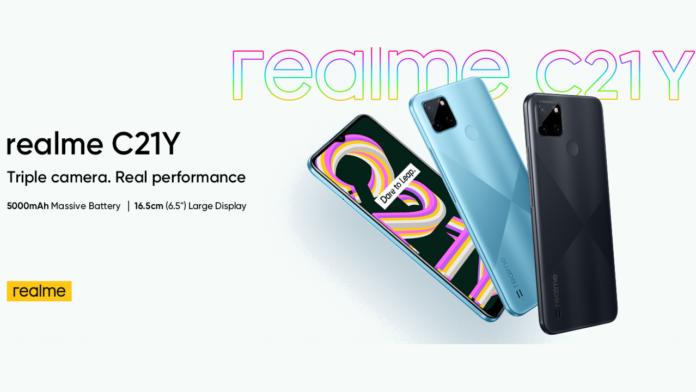 Realme C21Y Launched
