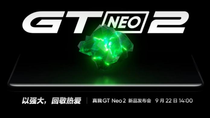 Realme GT Neo2 launch