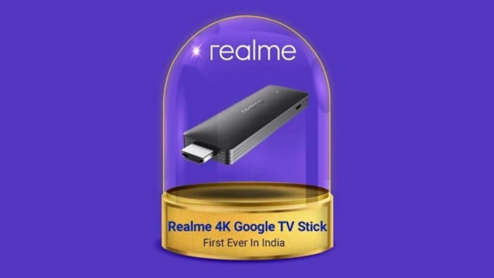 Realme 4K Google TV Stick
