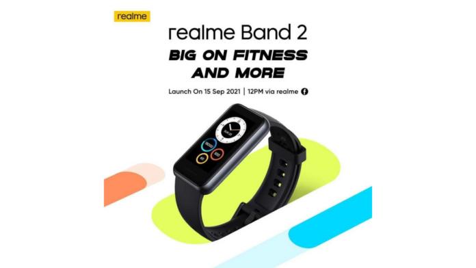 Realme Band 2 launch