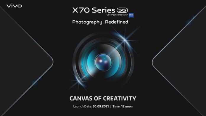 Vivo X70 series price