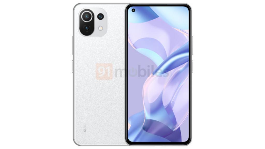 Xiaomi 11 Lite White Variant