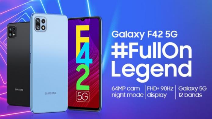 Galaxy F42 5G teaser