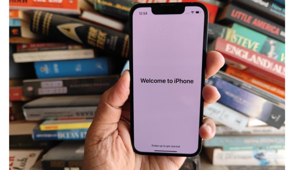 iphone 13 mini setting up