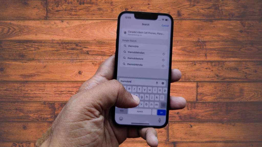 iphone 13 mini typing