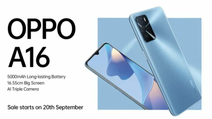 Oppo A16 sale
