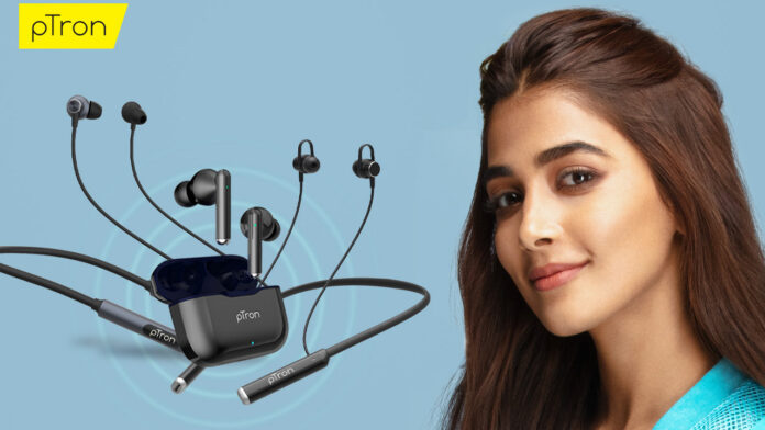 pTron launches TWS Earbuds
