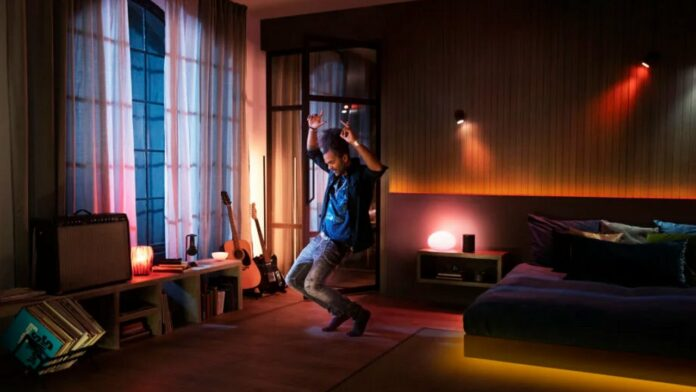 Philips Hue and Spotify integration