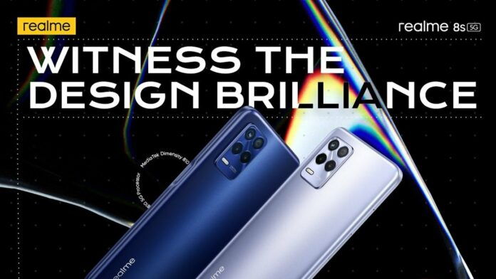 Realme 8s 5G colour
