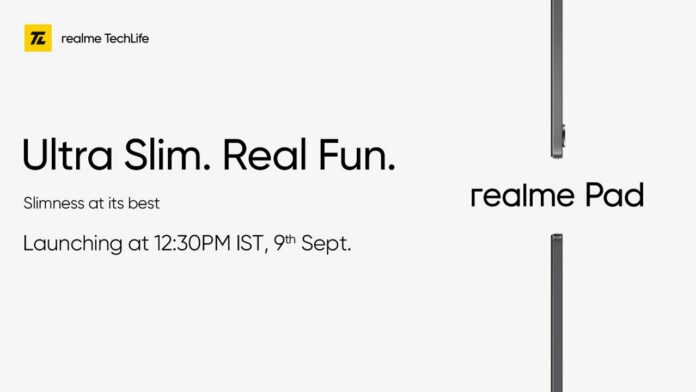 Realme Pad specifications