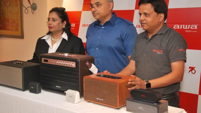 AIWA hi-fi speaker