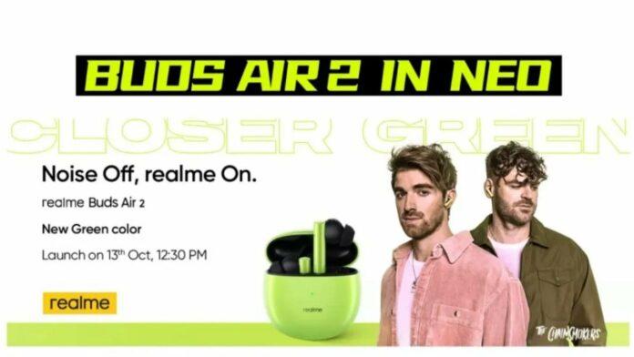Buds Air 2 Green